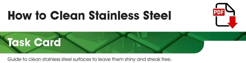 Stainless Steel Task Card